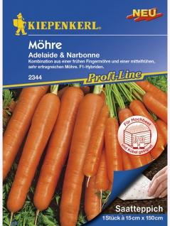Saatteppich Möhre Narbonne & Adelaide (15cm x 150cm)