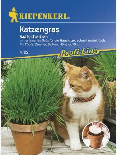 Katzengras Saatscheiben