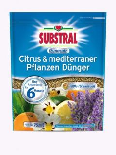 Substral Osmocote Citrus & mediterraner Pflanzen Dünger , Grundpreis: 4.49 € pro 1 kg
