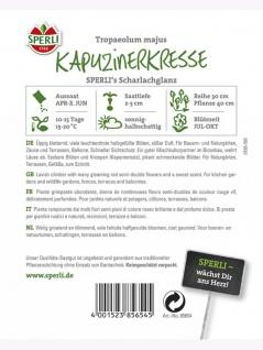 Kapuzinerkresse Scharlachglanz - Vorschau 2