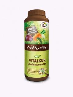 Naturen Bio Vitalkur Gemüsestreumittel Pflanzenstärkungsmittel zur Kräftigung schädlingsanfälliger Gemüsepflanzen, 600g , Grundpreis: 24.98 € pro 1 kg