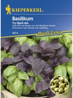 Basilikum Simply Herbs Try-Basil-Mix