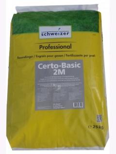 Schweizer Certo-Basic 2M Universal Profi-Rasendünger 25kg , Grundpreis: 2.78 € pro 1 kg