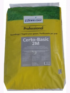 Schweizer Certo-Basic 2M Universal Profi-Rasendünger 1Kg , Grundpreis: 4.49 € pro 1 kg