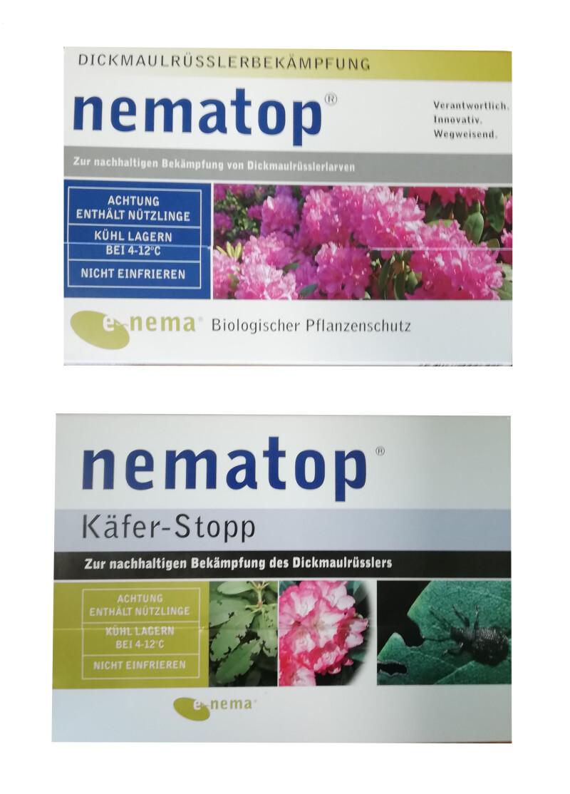 NemaTop HB Nematoden Nützlinge zur Bekämpfung des Dickmaulrüsslers 10 Mio