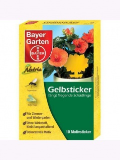 Bayer Gelbsticker 10 Motiv-Sticker