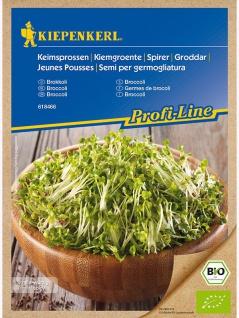 BIO Keimsprossen Brokkoli , Grundpreis: 0.14 € pro 1 g