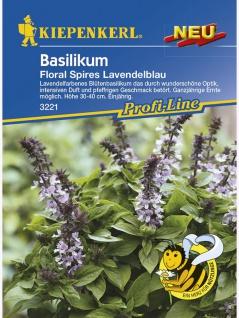 Basilikum Floral Spires Lavendelblau