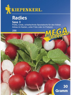 Radies Saxa 3 MEGA Pack 30g , Grundpreis: 9.30 € pro 100 g