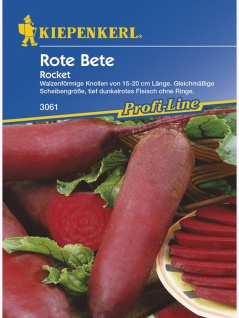 Rote Beete Rocket lang