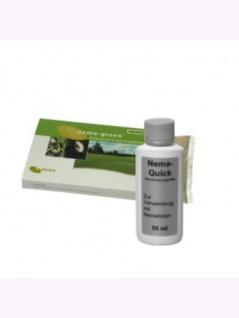 Nema-Green (50 Mio) + Nema-Quick (50 ml) Kombi-Packung HB Nematoden zur Bekämpfung des Gartenlaubkäfers