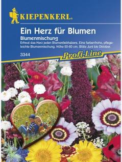 Blumenmischung Ein Herz für Blumen