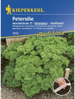 Petersilie Mooskrause2/Grandeur Saatband 5mtr , Grundpreis: 0.56 € pro 1 m