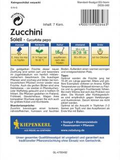 Zucchini Soleil goldgelb - Vorschau 2