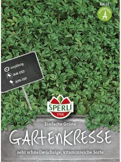 Gartenkresse Einfache Grüne