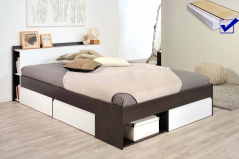 bett komplett 140x200 ikea bett malm x cm schwarz. Black Bedroom Furniture Sets. Home Design Ideas