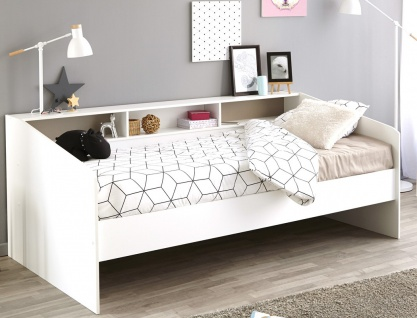 jugendbett weiss kinderbett g nstig online kaufen yatego. Black Bedroom Furniture Sets. Home Design Ideas