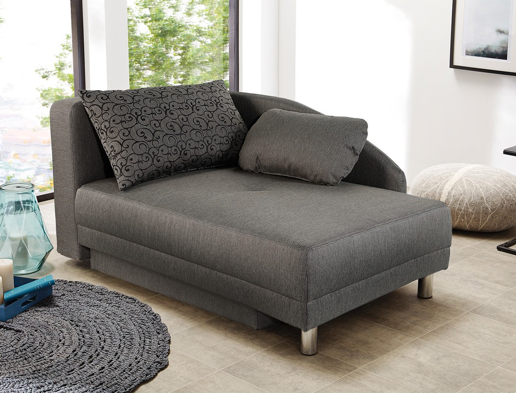 recamiere rocco 149x90 braun ottomane schlafsofa couch bettkasten kaufen bei vbbv gmbh co kg. Black Bedroom Furniture Sets. Home Design Ideas