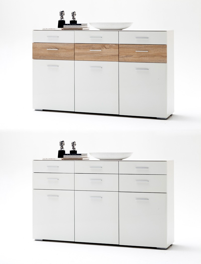 sideboard paskal 180x110x40 wei hochglanz anrichte schrank esszimmer kaufen bei vbbv gmbh. Black Bedroom Furniture Sets. Home Design Ideas