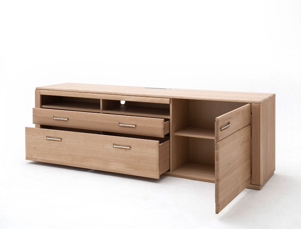 kernbuche tv mobel ... Lowboard Senta 11 Kernbuche 224x70x51 cm TV-Möbel TV-Schrank 2