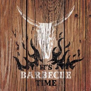 20 Servietten Barbecue Time