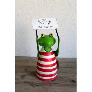 Zaunhocker Frosch Mein Garten