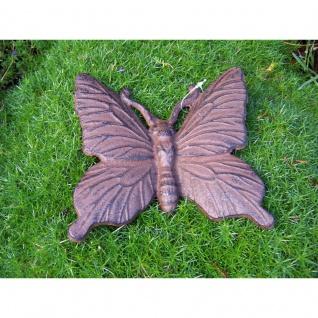 Gartenfigur Schmetterling groß
