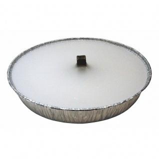 Flammschale 165 mm weiß