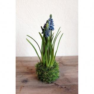 Kunstpflanze Trauben Hyazinthe
