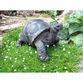 Dekofigur Schildkröte Gartenfigur