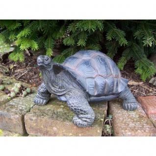 Gartenfigur Schildkröte groß