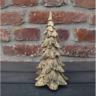Deko Weihnachtsbaum gold
