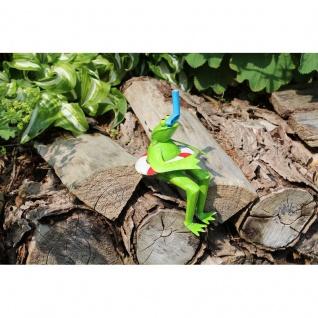 Gartenfigur Frosch Taucher