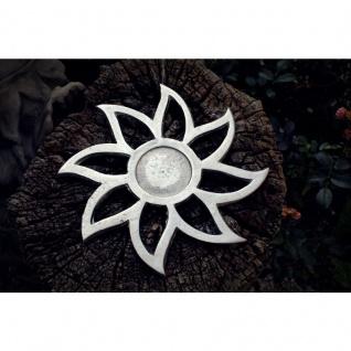 Teelichthalter Sonne Alu