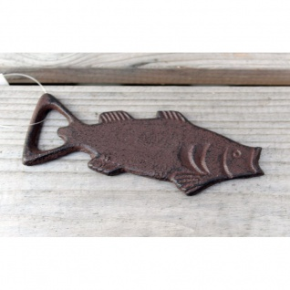 Flaschenöffner Fisch Gusseisen
