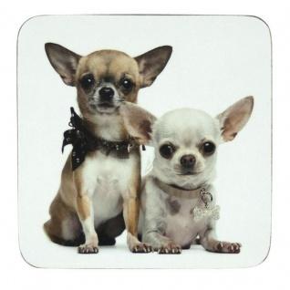 Untersetzer Chihuahuas 6er Set