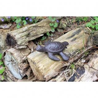 Gartenfigur Schildkröte klein