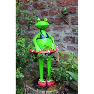 Gartenfigur Frosch Marianne Bikini