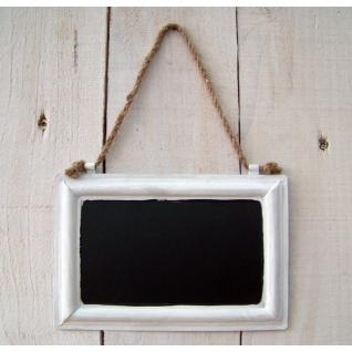 Kreidetafel weiß 18 x 12 cm