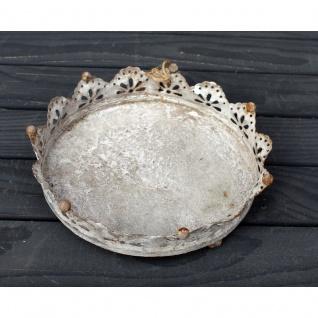 Kronen Tablett 23 cm