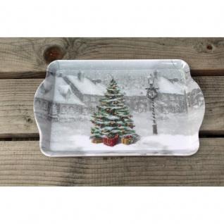 Tablett Weihnachtsbaum Vintage