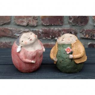 Dekofiguren Inge und Erich