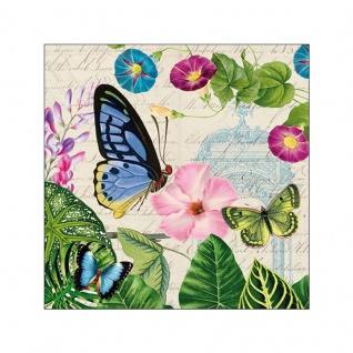 20 Servietten Schmetterlinge