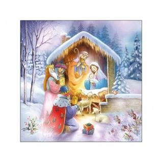 20 Servietten Jesus Geburt Krippe