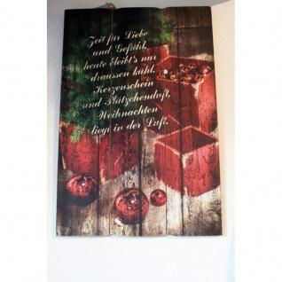 Wandbild Weihnacht 40x60 cm