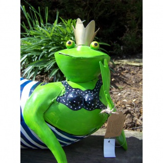 Gartenfigur Frosch Hilde Bikini