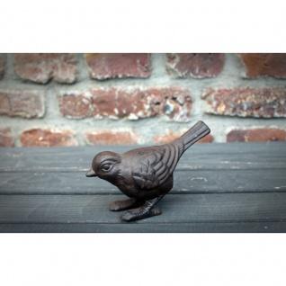 Gartenfigur Vogel Gusseisen