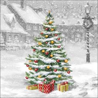 20 Servietten Weihnachtsbaum Vintage