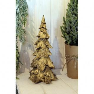 Deko Weihnachtsbaum gold L