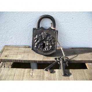 Deko Vorhängeschloß mit Schlüsseln